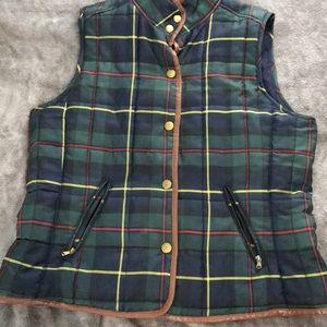 Ralph Lauren plaid vest